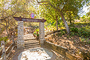 Welcome Arch Monument to Trail to Eagle at Niguel Botanical Preserve