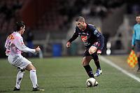 FOOTBALL - FRENCH CUP 2009/2010 - 1/16 FINAL - PARIS SAINT GERMAIN v EVIAN THONON FC - 24/01/2010 - PHOTO GUY JEFFROY / DPPI - SYLVAIN ARMAND (PSG)