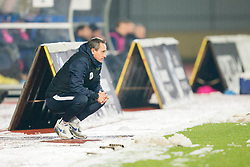 Primoz Gliha, head coach of Slovenia during football match between National teams of Slovenia and France in UEFA European Under-21 Championship Qualification, on November 13, 2017 in Domzale, Slovenia. Photo by Vid Ponikvar / Sportida