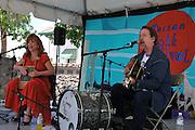 Jimmy Pines concert at 2010 Tucson Folk Festival.