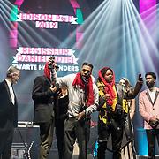 NLD/Amsterdam/20190212- Uitreiking Edison Pop 2019, Zwart Licht ft Ray Fuego winnen een award