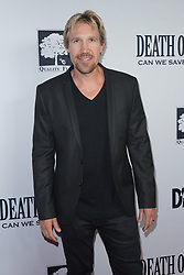 David A. R. White at Death Of A Nation Los Angeles Premiere held at Regal L.A. Live: A Barco Innovation Center on July 31, 2018 in Los Angeles, California, United States (Photo by Jc Olivera for Jade Umbrella)