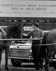 File photo dated 03/08/64 of Prince Charles, who had recently recovered from pneumonia in an Aberdeen nursing home, with one of the polo ponies at Smith's Lawn, Windsor Great Park.
