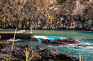 03-11-2016 Azoren Golf Eilanden. Foto's van São Miguel, het grootste van de negen eilanden van de Azoren, Portugal.