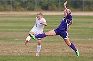 New Windsor, New York -  Monroe-Woodbury High School plays Cornwall High School in a girls' varsitiy soccer game on Sept. 24, 2014.