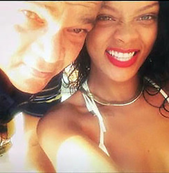 """*PREMIUM EXCLUSIVE * Rihanna's dad Ronald Fenty has told how he thought he was going to die after being stricken with Covid-19 - weeks after the superstar donated $5 million to fight the killer virus. The desperately worried singer and fashion mogul called every day to check on her father's condition as he spent 14 days fighting for life in a Barbados hospital. Three people on the holiday, island, a favorite of celebrities including Simon Cowell and Mark Wahlberg, have so far died of the virus. """"My daughter Robyn (Rihanna's real name) was checking in on me every day,"""" said Ronald. """"I thought I was going to die to be honest. I have to say 'I love you so much Robyn.' She did so much for me. I appreciate everything she had done."""" Somehow Rihanna even managed to have a potentially life-saving ventilator for her father shipped from the States to the Caribbean island. Ronald is now recovering at the luxury home the singer brought for him in the parish of St James. Ronald was twice tested and declared virus free before being allowed to go home. Rihanna, born and raised on Barbados, made her huge donation to help fight the pandemic in the U.S. and across the globe through her Clara Lionel Foundation - named after her beloved he's mother. Rihanna's massive donation is earmarked for local food banks serving at-risk communities and the elderly and to promote acceleration of coronavirus testing and care in countries like Haiti and Malawi, as well as the mobilization of resources and additional capacity and support for Native communities. Rihanna's funds are also being used to buy protective equipment for frontline health workers and diagnostic labs, to establish and maintain intensive care units, to accelerate the development of vaccines and other therapies across the globe, to train healthcare workers, and to distribute critical respiratory supplies. Ronald spoke of his terrifying life or death battle aftwr spending the last two weeks at the island's"""