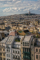 Rooftops of Paris from Centre Pompidou