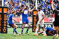 Joie Grenoble - 16.05.2015 - Grenoble / Stade Toulousain - 25eme journee de Top 14<br />Photo : Jack Robert / Icon Sport
