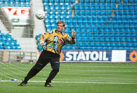 Keeper Morten Bakke, Norge. Landslagstrening foran kampen mot Armenia. Herrelandslaget 2000. 31. august 2000. (Foto: Peter Tubaas/Fortuna Media)