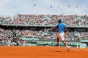 Roland Garros 2011. Paris, France. May 28th 2011..Spanish player Rafael NADAL against Antonio VEIC