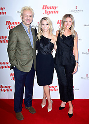 Michael Sheen, Reese Witherspoon and Hallie Myers-Shyer attending a screening of Home Again in London. Picture Date: Thursday 21 September. Photo credit should read: Ian West/PA Wire