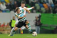 20111201: LISBON, PORTUGAL Ð UEFA Europe League 2011/2012 Group D: Sporting Lisbon vs FC Zurique.<br />In picture . Diego Capel<br />PHOTO: CITYFILES