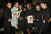 l to r: Hollis Larkins, Shante Timberlake, Titi Kitty, Tracey Smith, Michelle Huff and Debbie Asrate  at The Jamie Foxx's Album Release Party for Intuition, Sponsored by Vibe Magazine & Patron Tequila held at Home on December 17, 2008 in New York City..