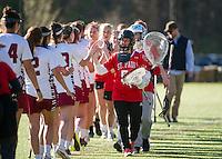 St Pauls School varsity girls Lacrosse versus Groton.  Karen Bobotas Photographer