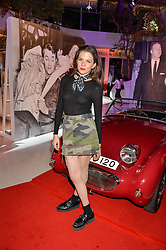 MORGANE POLANSKI at a private view of Marilyn - The Legacy of a Legend held at the Design Centre, Chelsea Harbour, London on 25th May 2016.