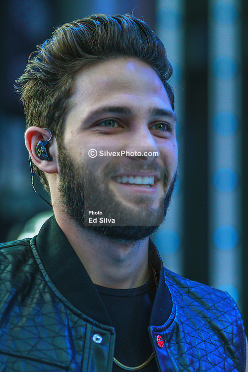LOS ANGELES, CA - AUG 23 Venezuelan theater, TV actor, singer and model Gabriel Coronel performs at the 2014 Descarga held in Los Angeles Universal CityWalk. Byline, credit, TV usage, web usage or linkback must read SILVEXPHOTO.COM. Failure to byline correctly will incur double the agreed fee. Tel: +1 714 504 6870.