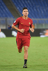 August 26, 2017 - Rome, Italy - Lorenzo Pellegrini  during the Italian Serie A football match between A.S. Roma and F.C. Inter at the Olympic Stadium in Rome, on august 26, 2017. (Credit Image: © Silvia Lore/NurPhoto via ZUMA Press)