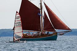 , Travemünde - Mövensteinregatta 07. - 09.08.2020, Musto Skiff - GER 201 - Nino SANDMEIER - Berliner Yacht-Club e.V