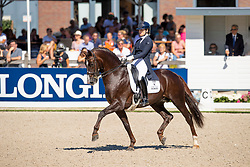 Loos Franka, NED, Giovanni<br /> World ChampionshipsYoung Dressage Horses<br /> Ermelo 2018<br /> © Hippo Foto - Dirk Caremans