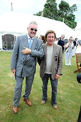 Left to right, ROGER TAYLOR and KENNEY JONES at the Cartier Style et Luxe, the Goodwood Festival of Speed, West Sussex on 13th July 2008.<br /> <br /> NON EXCLUSIVE - WORLD RIGHTS