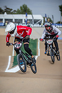 #210 (CHRISTENSEN Simone Tetsche) DEN at Round 1 of the 2020 UCI BMX Supercross World Cup in Shepparton, Australia