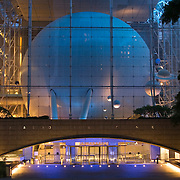 Hayden Planetarium at the Museum of Natural History in New York City