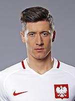 Uefa - World Cup Fifa Russia 2018 Qualifier / <br /> Poland National Team - Preview Set - <br /> Robert Lewandowski