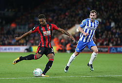 AFC Bournemouth Jordon Ibe has a shot at goal during the Carabao Cup, third round match at the Vitality Stadium, Bournemouth.