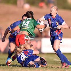 BRISBANE, AUSTRALIA - FEBRUARY 18:  during the QLD Rugby League Womens Pre-Season match between Wynnum Manly and Toowoomba at Kougari Oval on February 18, 2017 in Brisbane, Australia. (Photo by Patrick Kearney/Wynnum Manly Seagulls)