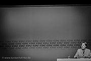 Politik: Landtagswahlen Niedersachsen, Wahlkampf, Seevetal, 12.10.2017<br /> Bundeskanzlerin Angela Merkel bei einer CDU Wahlkampfveranstaltung<br /> © Torsten Helmke