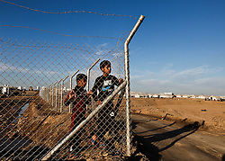 December 4, 2016 - Mosul, Iraq - Internally Displaced People fleeing ISIS from Mosul as Iraqi Security Forces move to clear the city of the terror network adjust to life at Hassan Sham Camp in Kurdistan Region. (Credit Image: © ZUMA Wire via ZUMA Wire)