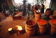 Toeleria Victoria, wine barrel factory in Haro, Rioja, Spain.
