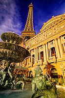 Paris Las Vegas hotel and casino, Las Vegas Boulevard (The Strip), Las Vegas, Nevada, USA