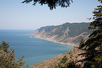 Views of Mendocino's Lost Coast on the Pacific shore of Northern California