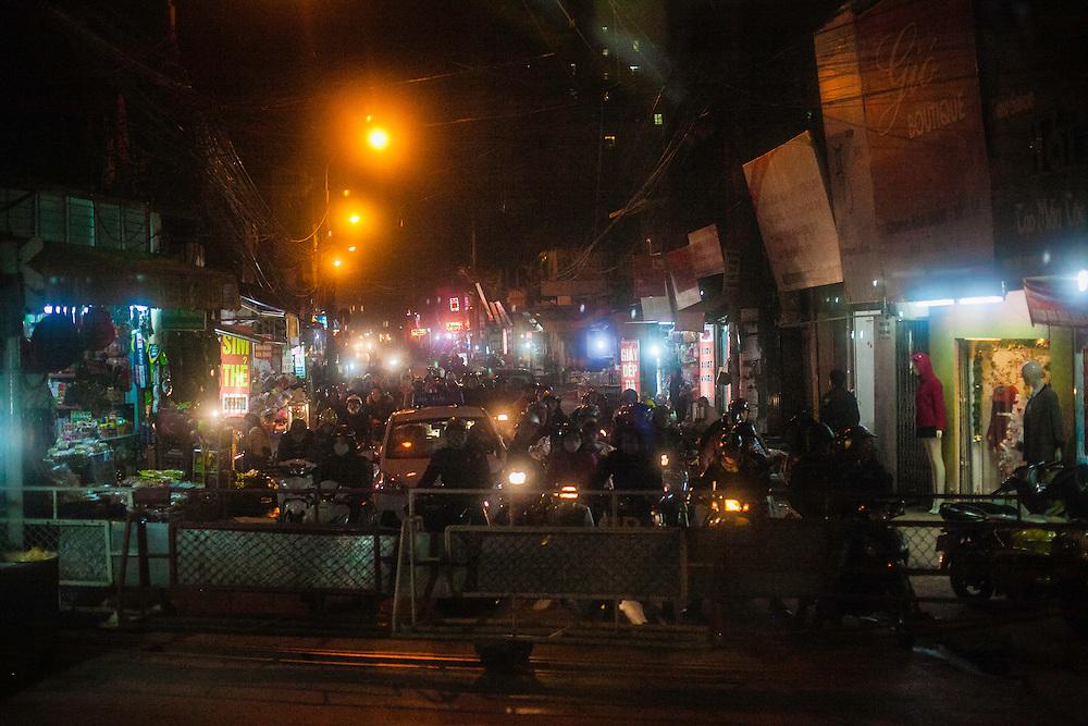 Hanoi to Danang on the reunification railway.