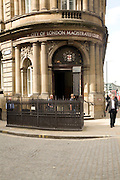 City of London magistrates court, London