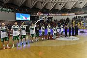 DESCRIZIONE : Roma Lega A 2014-15 <br /> Acea Virtus Roma - Sidigas Avellino <br /> GIOCATORE : <br /> CATEGORIA : pre game pregame inno <br /> SQUADRA : Acea Virtus Roma<br /> EVENTO : Campionato Lega A 2014-2015 <br /> GARA : Acea Virtus Roma - Sidigas Avellino <br /> DATA : 04/04/2015<br /> SPORT : Pallacanestro <br /> AUTORE : Agenzia Ciamillo-Castoria/GiulioCiamillo<br /> Galleria : Lega Basket A 2014-2015  <br /> Fotonotizia : Roma Lega A 2014-15 Acea Virtus Roma - Sidigas Avellino