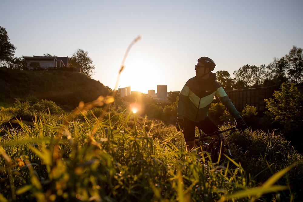 Richmond, Virginia.<br /> Mountain Bike