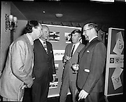 """Premiere of """"The Little People"""".A film by Irish Shell & BP Irl,Ltd..1971.26.04.1971..04.26.1971..26th April 1971..At the Savoy Cinema, O'Connell St, Dublin Irish Shell and BP Irl Ltd premiered the showing of their new film """"The Little People"""". Guest of honour at the showing was the Taoiseach, Mr Jack Lynch. He was accompanied by other members of the government. After the film they repaired to The Gresham Hotel, O'Connell St, for refreshments...Pictured at the premiere of """"The Little People"""" were (L-R), Mr Vincent Corcoran, Vincent Corcoran Productions, An Taoiseach, Mr Jack Lynch TD, Mr Tony Gray, Script Writer and Mr Bernard A Nolan,Managing Director,Irish Shell and BP Ltd."""