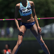Blanka Vlasic, Croatia, finishing second on countback in the Women's High Jump competiton with a jump of 1.97m during the Diamond League Adidas Grand Prix at Icahn Stadium, Randall's Island, Manhattan, New York, USA. 13th June 2015. Photo Tim Clayton