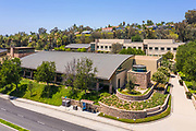 Aerial View of the Mission Viejo Library and City Hall Building