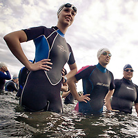 All-round athletes competed in the first ever Summer Solstice Triathlon/Duathlon at Frenchman's Bar Park.<br /> (The Columbian/ N. Scott Trimble)