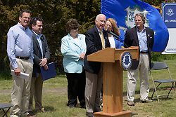 Ground Breaking Ceremony for the New Meigs Point Nature Center at Hammonasset Beach State Park  <br /> Connecticut State Project No: BI-T-601   Northeast Collaborative Architects  Contractor: Secondino & Son
