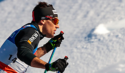 27.01.2018, Seefeld, AUT, FIS Weltcup Langlauf, Seefeld, FIS Weltcup Langlauf, Sprint Herren, im Bild Jovian Hediger (SUI) // Jovian Hediger of Switzerland during men's sprint of the FIS cross country world cup in Seefeld, Austria on 2018/01/27. EXPA Pictures © 2018, PhotoCredit: EXPA/ JFK