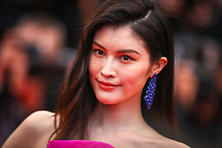 """Sui He attends the screening of """"Les Plus Belles Annees D'Une Vie"""" during the 72nd annual Cannes Film Festival on May 18, 2019 in Cannes, France. Photo by Shootpix/ABACAPRESS.COM"""