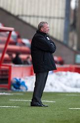 Alex Smith, Falkirk interim manager. Airdrie United 0 v 1 Falkirk, 30/3/2013..©Michael Schofield..