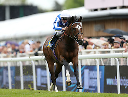 Chief Ironside ridden by Kieran Shoemark wins the Deepbridge Capital Maiden Stakes during City Day of the 2018 Boodles May Festival at Chester Racecourse.