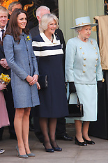 Royals at Fortnum and Mason in London