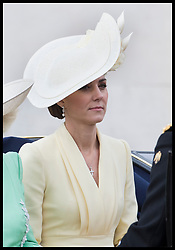 June 8, 2019 - London, London, United Kingdom - Image licensed to i-Images Picture Agency. 08/06/2019. London, United Kingdom. Duchess of Cornwall and Duchess of Cambridge  at Trooping the Colour in London. (Credit Image: © Stephen Lock/i-Images via ZUMA Press)