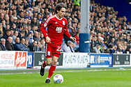Birmingham City midfielder Jota (27) during the EFL Sky Bet Championship match between Queens Park Rangers and Birmingham City at the Loftus Road Stadium, London, England on 28 April 2018. Picture by Andy Walter.